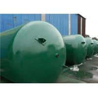 Cheap ASME Approved Horizontal Air Receiver Tanks For Air Compressors Systems for sale