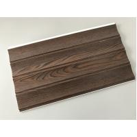 Best Wooden Groove Laminate Wall Panels , Commercial Washable Wall Panels wholesale