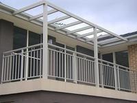 Quality Powder Coated Eco Friendly Waterproof Aluminum Walk Boards / Aluminum Fence wholesale
