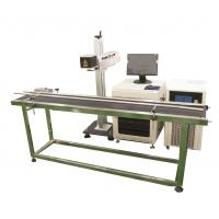 Quality Production line Fiber Laser Marking Machine for Brass, Copper Materials wholesale