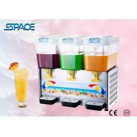 Best Commercial Cold Drink Dispenser Machine with Three Tanks High Output wholesale