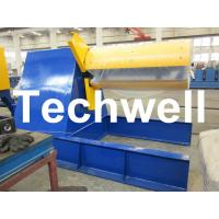 Best Custom Hydraulic Auto Recoiler Curving Machine With 0 - 15m/min Rewind Speed wholesale