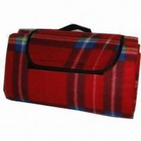 Best Camping Blanket, Made of 100% Fleece or Acrylic, Measures 130 x 150cm wholesale
