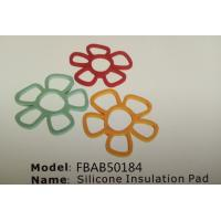 Best FBAB50184 for wholesales flower shape mini silicone insultion pad wholesale