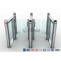 Buy cheap Stylish Optical Speed Gate Turnstile Bi - Directional Pedestrian Queuing Systems Entry Barriers from wholesalers