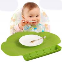 Best BPA Free Safe Silicone Baby Table Mat Silicone Food Placemat For Kids wholesale