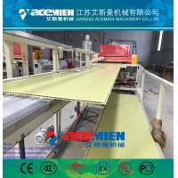 Cheap plastic wall panel production line for decoration for sale
