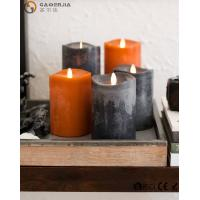 Buy cheap Beautiful Autumn Colors Flameless Led Candles Paraffin Wax Materials FL-048 from wholesalers