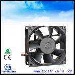 Best Low Noise Waterproof Ball Bearing DC Motor Fan With 6000 Rpm Speed wholesale