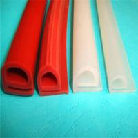 Best Durable Silicone Extruded Profiles Electrically Insulating With Dielectric Strength 500 V/Mil wholesale