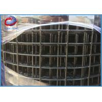 China Blue Black Vinyl Coated Welded Wire Fencing With ISO9001 Certification on sale