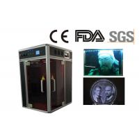 Buy cheap Air Cooling 3D Crystal Laser Engraving Machine Plus 3D Camera for Portrait from wholesalers