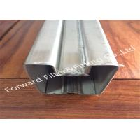 Quality Galvanized / Powder Coating Metal Casting Products Stainless Steel Channel / Edging wholesale