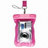Best Waterproof Mobile Phone Pouches, and also for Camera, Made of PVC wholesale