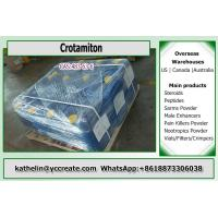 China Cas 483-63-6 Crotamiton Yellow Liquid For Fungicide And Insecticide. on sale