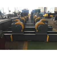 Best Grey / Yellow Self Aligning Rotator , Pipe Turning Rolls For Tank And Pressure Vessel wholesale