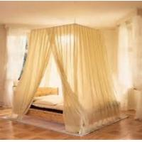 Best emf protection bed canopies fabric silver mesh in light grey color 22DB attenuation wholesale
