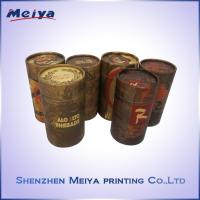 Best Custom Recycle Gift Paper Cardboard Tube Box , Cylinder Box ,  Round Box wholesale