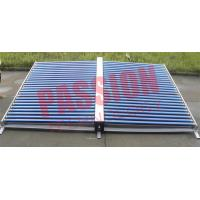 Best 50 Tubes Vacuum Tube Solar Collector Stainless Steel Manifold For Project wholesale