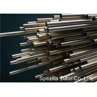 China CuZn20Al2As Aluminum Brass Tube , ASME SB395 Copper Nickel Pipe Welding CZ110 on sale
