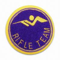 Best Customized Make Chenille Patch/Badge for Sale, Different Sizes/Shapes are Available wholesale