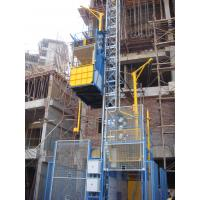 Quality Double Cage Construction Hoist Elevator 3200kg With High Speed wholesale