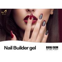 Best Logo Printable No Heat Nail Builder Gel On Natural Nails Nice Smooth wholesale