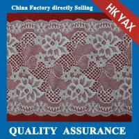 China 2014 china factory wholesale new design Beautiful flower pattern stretch lace trimming for garment on sale