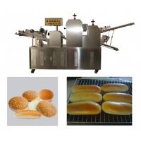 Cheap Double Rollers Bread Dough Making Machine for Hot Dog Bakery Production Line wholesale