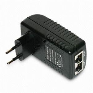 Best AU / US AC Plug Switching Single Port Poe Power Adapter 48V 0.5A 24W wholesale