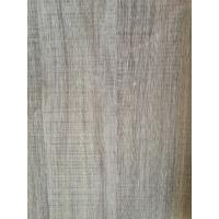 Best Printed Grey Wood Grain Decorative Paper Surface Abrasion Resistance 500kg / Roll wholesale