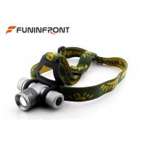 Best CREE XPE  Zoom Outdoor LED Headlamp Bicycle Lights Using 18650 Battery wholesale