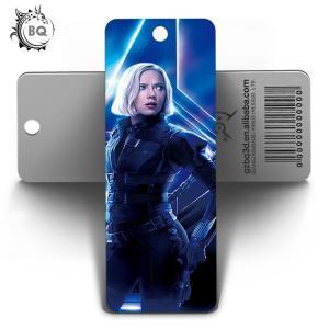 Best Marvel Heros Design PET 3D Lenticular Bookmark 0.6mm PET+157g Coated Paper wholesale