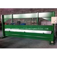 Best TY 4m Hydraulic Color Coated Steel Sheet Bending Cutting Machine PLC  Panasonic wholesale