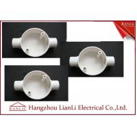 Best White Conduit Terminal Box Waterproof PVC Conduit and Fittings Two Way wholesale