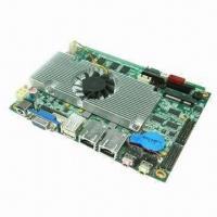 Best 3.5-inch Industrial Motherboard, Onboard Intel Atom D525 CPU, 6 COM Ports, Supports VGA/LVDS/Wi-Fi wholesale