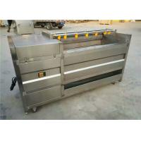 China Silver Potato Washing Equipment, 304 Stainless Steel Carrot Cleaning Machine on sale