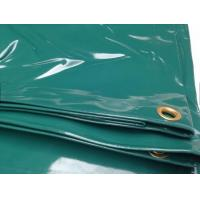 Best 14 OZ Water Proof Glossy PVC Coated Tarpaulin Fabric For Boat Cover Or Truck Cover wholesale