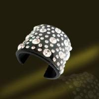 Best Acrylic Bangle With Crystals (BSL3056-B) wholesale