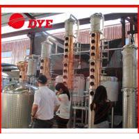 Best 100Gal Stainless Steel Whiskey Commercial Distilling Equipment 1 - 3Layers wholesale