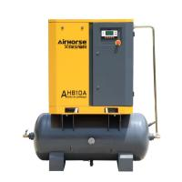 Best Electric driven 7.5KW 10HP 2 in 1 Rotary Screw Air Compressor with air tank with CE,ASME certificate wholesale