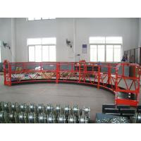 Quality Temporary Suspension Construction Cradle , Lifting Cradle Wall Painting wholesale