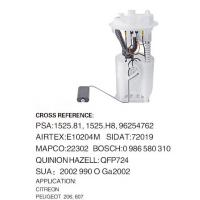 Buy cheap High Performance Fuel Pumps (electric fuel pump) for Auto CITREON, PEUGEOT 206 from wholesalers
