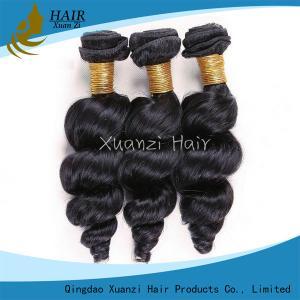 Long Lasting Malaysian Virgin Hair Extensions Loose Wave 100%  Virgin Hair