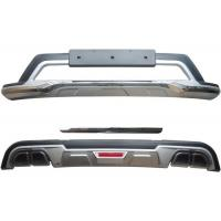 Cheap Front Bumper Guard and Rear Diffuser with Chromed Garnish for 2019 KIA SPORTAGE for sale