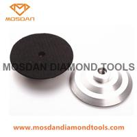 Best Aluminum Backer Pads Adapter for Hand Grinder Polisher wholesale