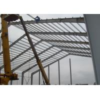 Quality Lightweight Industrial Steel Structures , Shock Resistant Steel Structure Fabrication With Space Frames wholesale