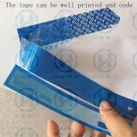 PET Packing Security Seal Tape One Time Used Transportation Free Shipping