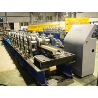 Best Hot Dip Galvanized Highway Guardrail Roll Forming Machine With CE Certification wholesale