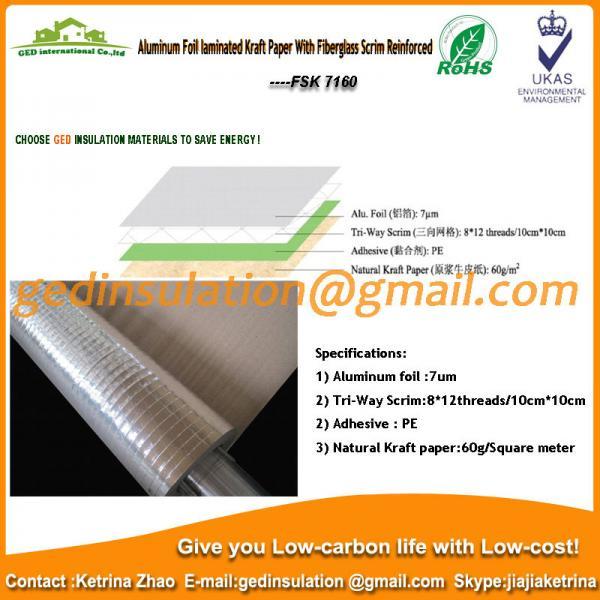 Details Of Aluminum Foil Laminated 60g Kraft Paper With